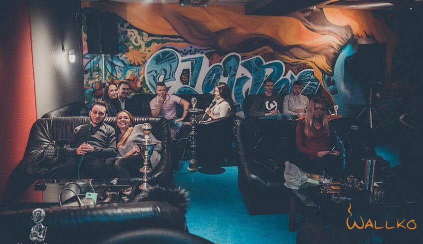 Кальянная F-Lounge Street Art — Москва